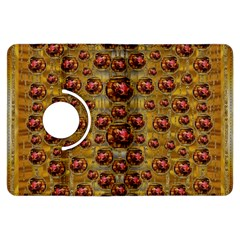 Angels In Gold And Flowers Of Paradise Rocks Kindle Fire Hdx Flip 360 Case by pepitasart