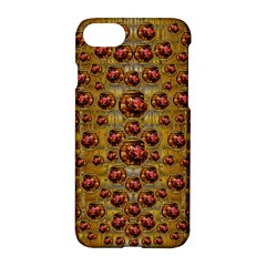 Angels In Gold And Flowers Of Paradise Rocks Apple Iphone 7 Hardshell Case by pepitasart