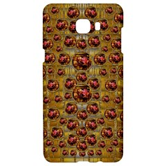 Angels In Gold And Flowers Of Paradise Rocks Samsung C9 Pro Hardshell Case  by pepitasart