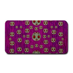 Ladybug In The Forest Of Fantasy Medium Bar Mats by pepitasart