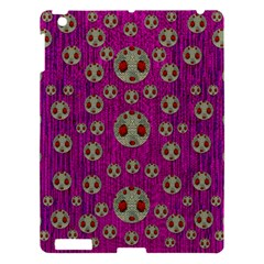 Ladybug In The Forest Of Fantasy Apple Ipad 3/4 Hardshell Case by pepitasart