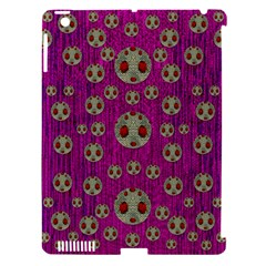 Ladybug In The Forest Of Fantasy Apple Ipad 3/4 Hardshell Case (compatible With Smart Cover) by pepitasart