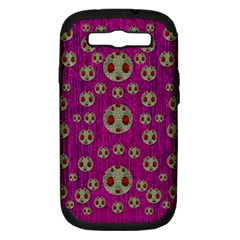 Ladybug In The Forest Of Fantasy Samsung Galaxy S Iii Hardshell Case (pc+silicone) by pepitasart