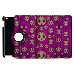 Ladybug In The Forest Of Fantasy Apple Ipad 3/4 Flip 360 Case by pepitasart