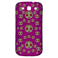 Ladybug In The Forest Of Fantasy Samsung Galaxy S3 S Iii Classic Hardshell Back Case by pepitasart