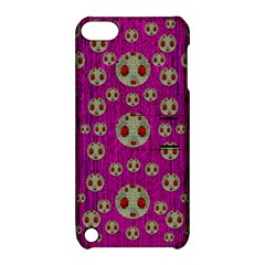 Ladybug In The Forest Of Fantasy Apple Ipod Touch 5 Hardshell Case With Stand by pepitasart