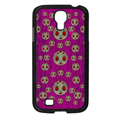 Ladybug In The Forest Of Fantasy Samsung Galaxy S4 I9500/ I9505 Case (black) by pepitasart