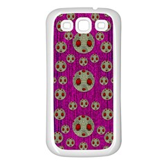 Ladybug In The Forest Of Fantasy Samsung Galaxy S3 Back Case (white) by pepitasart