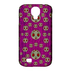 Ladybug In The Forest Of Fantasy Samsung Galaxy S4 Classic Hardshell Case (pc+silicone) by pepitasart