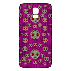 Ladybug In The Forest Of Fantasy Samsung Galaxy S5 Back Case (white) by pepitasart