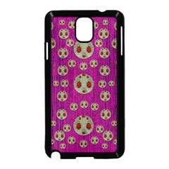 Ladybug In The Forest Of Fantasy Samsung Galaxy Note 3 Neo Hardshell Case (black) by pepitasart