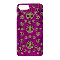 Ladybug In The Forest Of Fantasy Apple Iphone 7 Plus Hardshell Case by pepitasart