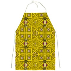 Stars And Flowers In The Forest Of Paradise Love Popart Full Print Aprons by pepitasart