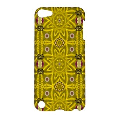 Stars And Flowers In The Forest Of Paradise Love Popart Apple Ipod Touch 5 Hardshell Case by pepitasart