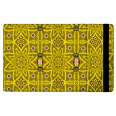 Stars And Flowers In The Forest Of Paradise Love Popart Apple Ipad 2 Flip Case by pepitasart