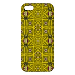 Stars And Flowers In The Forest Of Paradise Love Popart Iphone 5s/ Se Premium Hardshell Case by pepitasart