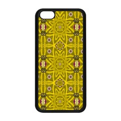 Stars And Flowers In The Forest Of Paradise Love Popart Apple Iphone 5c Seamless Case (black) by pepitasart