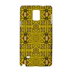 Stars And Flowers In The Forest Of Paradise Love Popart Samsung Galaxy Note 4 Hardshell Case by pepitasart