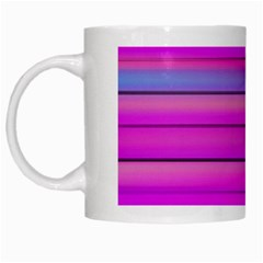 Cool Abstract Lines White Mugs by BangZart