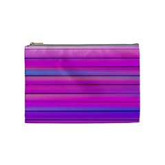 Cool Abstract Lines Cosmetic Bag (medium)