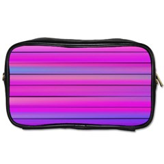 Cool Abstract Lines Toiletries Bags by BangZart