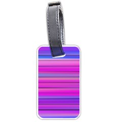 Cool Abstract Lines Luggage Tags (two Sides)