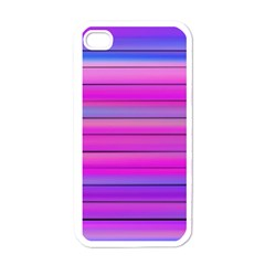 Cool Abstract Lines Apple Iphone 4 Case (white)