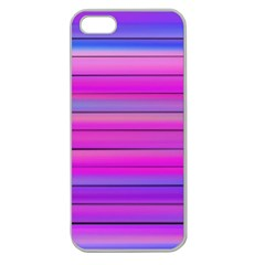 Cool Abstract Lines Apple Seamless Iphone 5 Case (clear) by BangZart