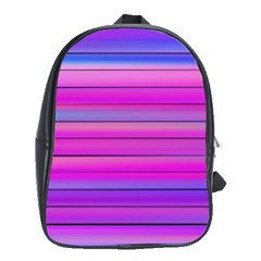 Cool Abstract Lines School Bags (xl)  by BangZart