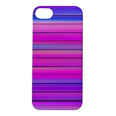 Cool Abstract Lines Apple Iphone 5s/ Se Hardshell Case by BangZart