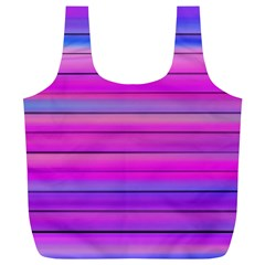 Cool Abstract Lines Full Print Recycle Bags (l)