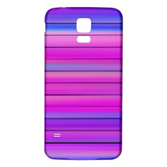 Cool Abstract Lines Samsung Galaxy S5 Back Case (white)