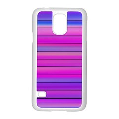 Cool Abstract Lines Samsung Galaxy S5 Case (white) by BangZart
