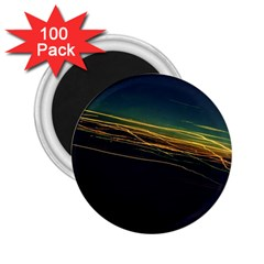 Night Lights 2 25  Magnets (100 Pack)  by BangZart
