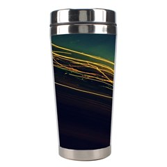Night Lights Stainless Steel Travel Tumblers by BangZart