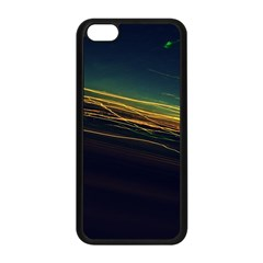 Night Lights Apple Iphone 5c Seamless Case (black) by BangZart