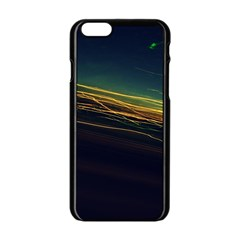 Night Lights Apple Iphone 6/6s Black Enamel Case by BangZart