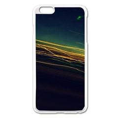Night Lights Apple Iphone 6 Plus/6s Plus Enamel White Case by BangZart