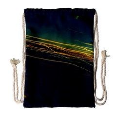 Night Lights Drawstring Bag (large)