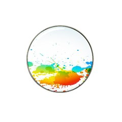 Colorful Abstract Hat Clip Ball Marker (4 Pack) by BangZart