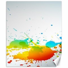 Colorful Abstract Canvas 8  X 10  by BangZart
