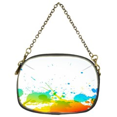 Colorful Abstract Chain Purses (one Side)