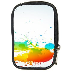 Colorful Abstract Compact Camera Cases by BangZart
