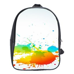 Colorful Abstract School Bags(large)  by BangZart