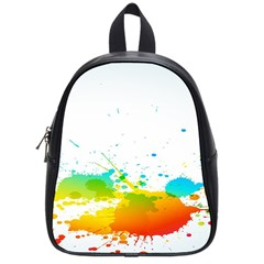 Colorful Abstract School Bags (small)  by BangZart