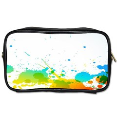 Colorful Abstract Toiletries Bags