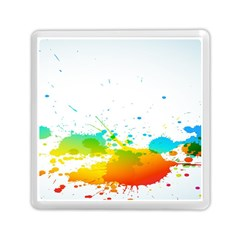 Colorful Abstract Memory Card Reader (square)