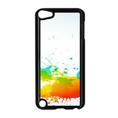 Colorful Abstract Apple Ipod Touch 5 Case (black)
