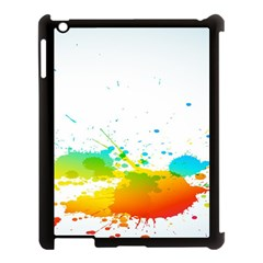 Colorful Abstract Apple Ipad 3/4 Case (black)