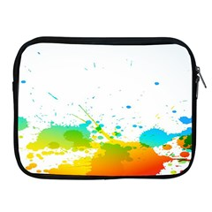 Colorful Abstract Apple Ipad 2/3/4 Zipper Cases by BangZart
